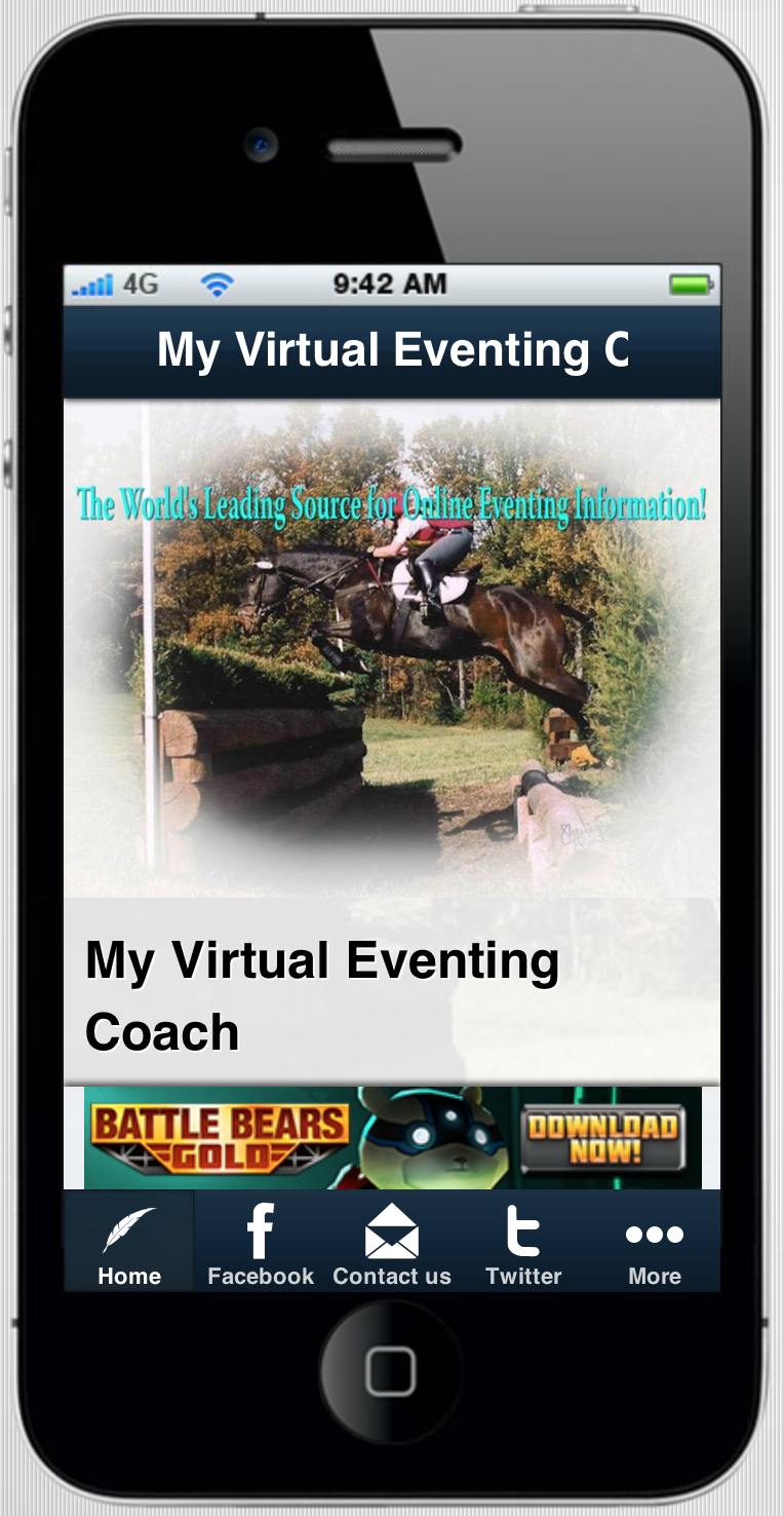 My Virtual Eventing Coach