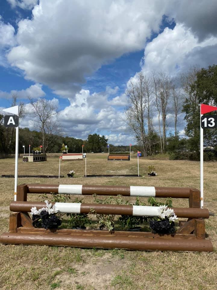 Training level cross country coffin complex | Eventing